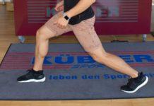Übungen für Beine und Po