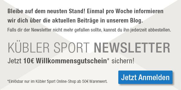 Newsletter von Kübler Sport
