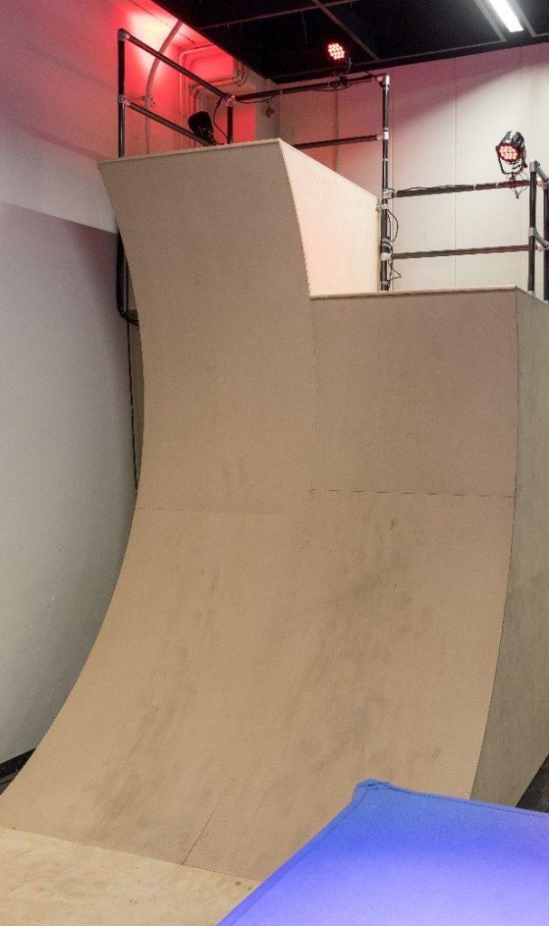 Warped Wall Ninja Park