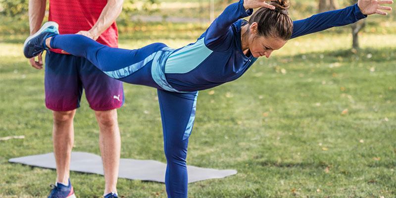 Winter is here: Fitnessübungen für zu Hause