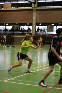 Badminton Rückschlagspiel