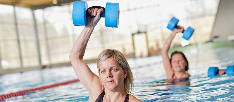 Aquafitness und Aerobic