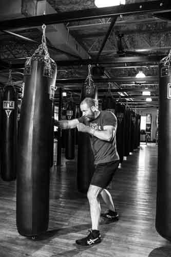 Beanspruchte Muskulatur im Boxtraining