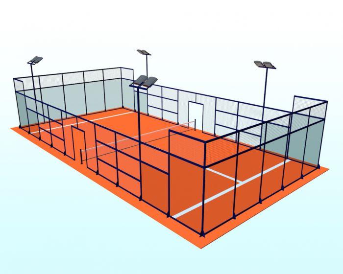 Padel-Tennis Spielfeld