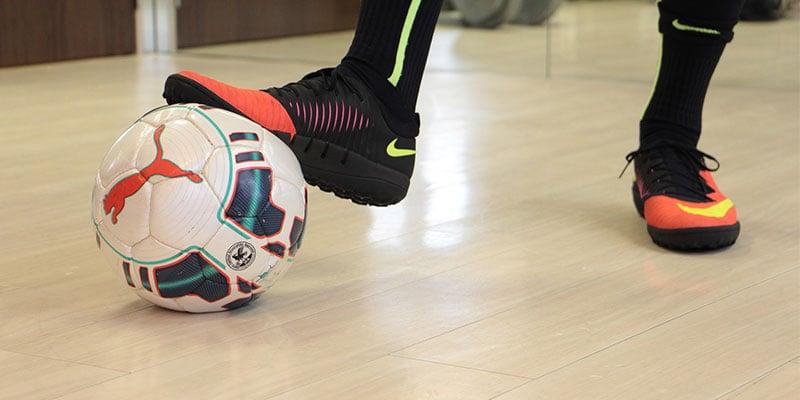 Vier Ecken Fußball