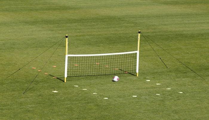 Fußballtennis Spielfeld