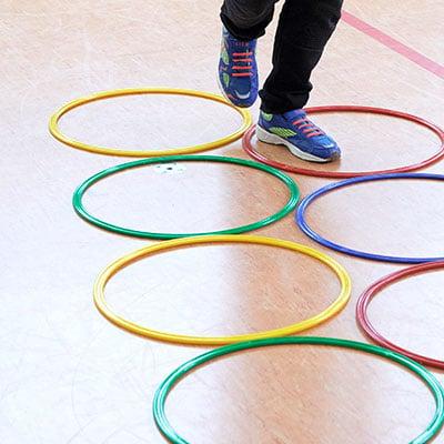 Kinderleichtathletik Spiele