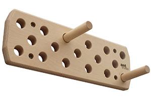 Antworks® Trainingsboard Ant Hill 63 aus Birkenholz