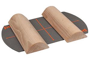 Pedalo® Fußwalzen aus Eschenholz