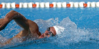 Trainingsutensilien Schwimmen