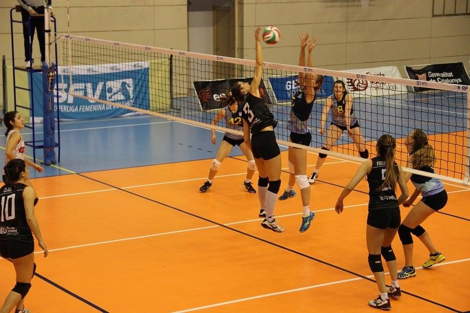 Aufwärmenspiele im Volleyball