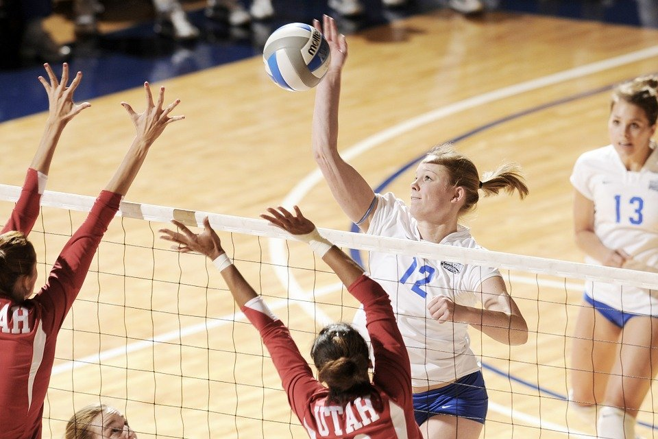 Aufwärmspiele für das Volleyballtraining