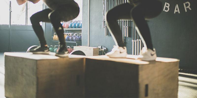 Plyoboxen für Sprungkrafttraining
