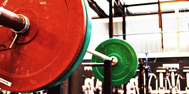 Ausrüstung für das Gewichtheben