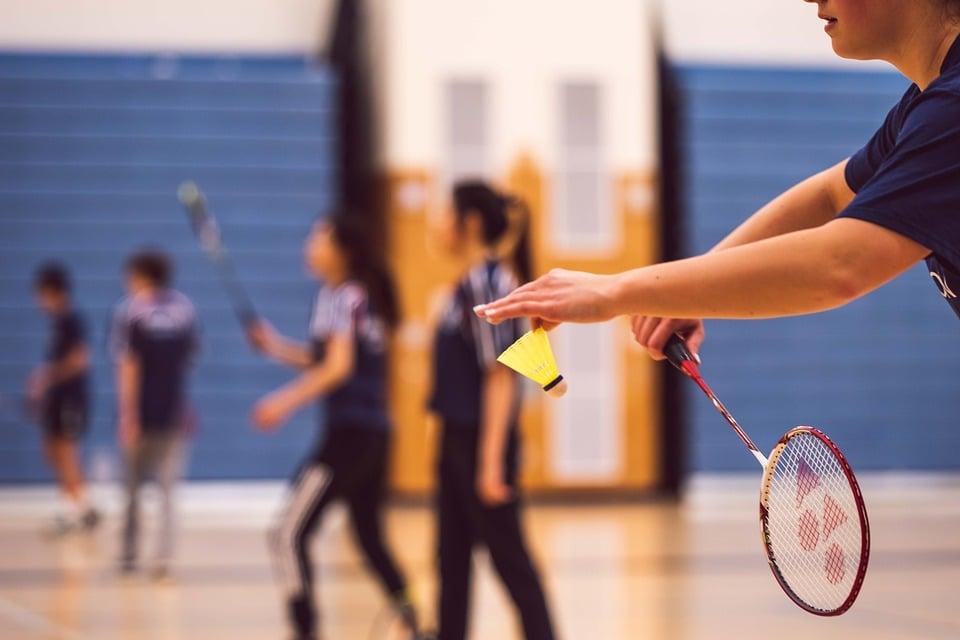 Badminton im Schulsport
