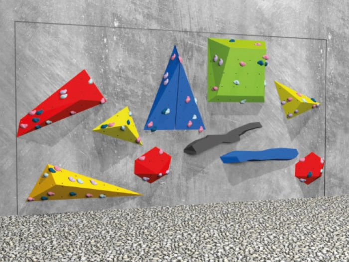 Boulderwand für Schulen