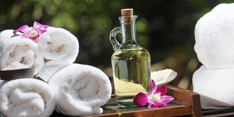 Ausstattung für die Massagepraxis