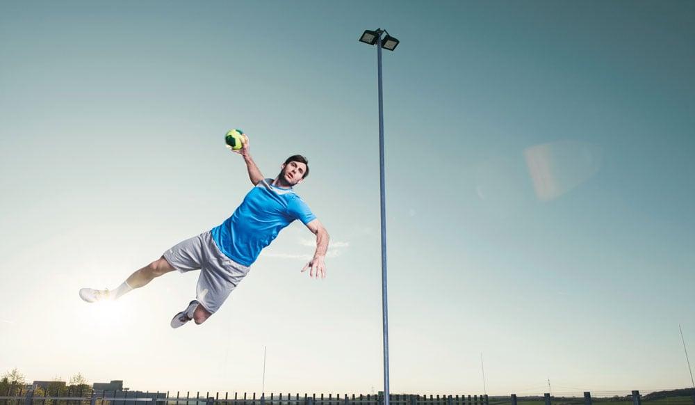 Handball und Spielideen