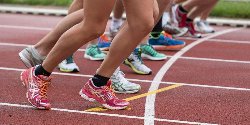 Intervalltraining in der Leichtathletik