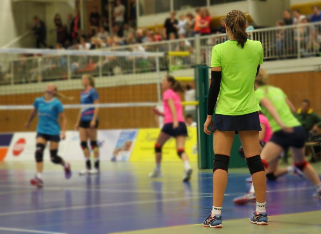 Spiele im Volleyballtraining