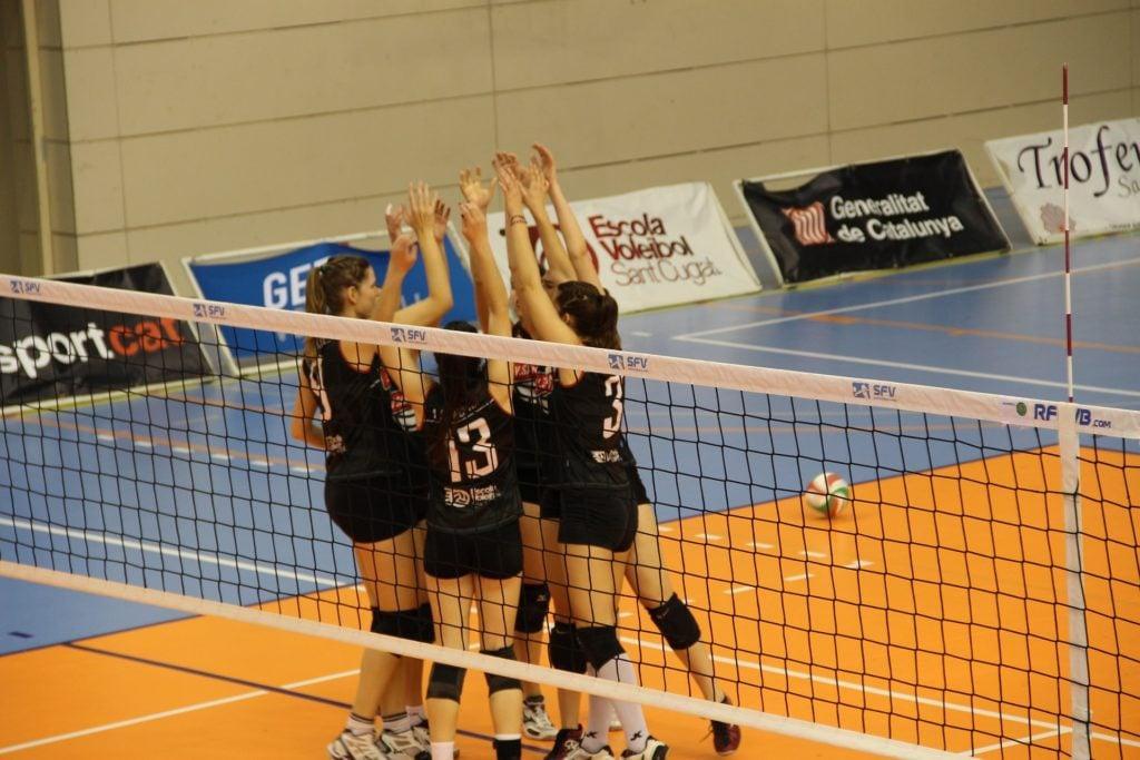 Volleyballspiele für den Sportunterricht