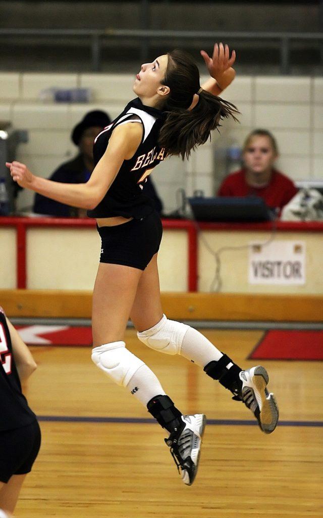 Volleyball in der Schule