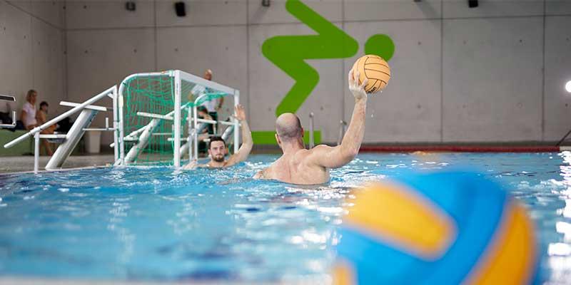 Wasserball Regeln: Das Tor