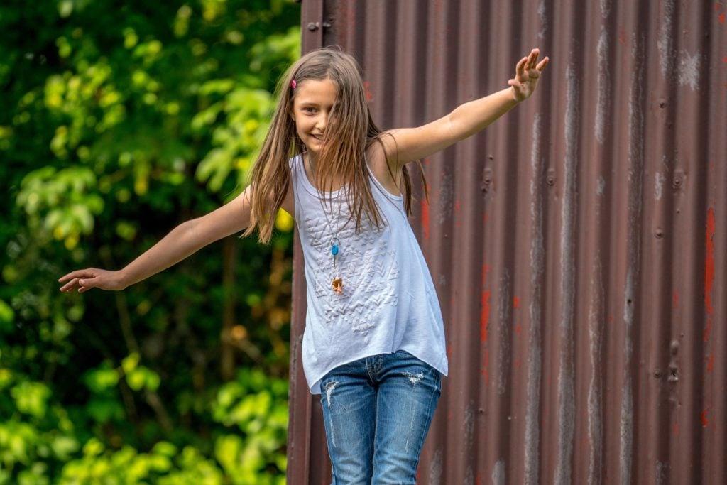 Balanceübungen für Kinder