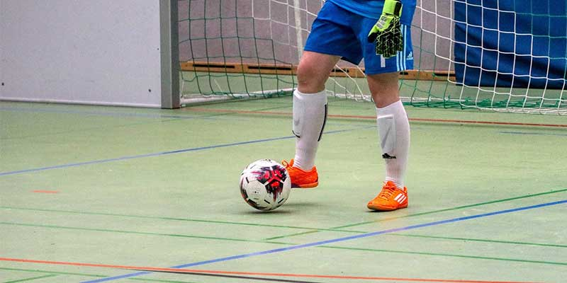 Futsal-Regeln: der Torwart