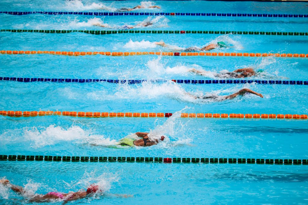 Beliebte Geräte im Schwimmbad
