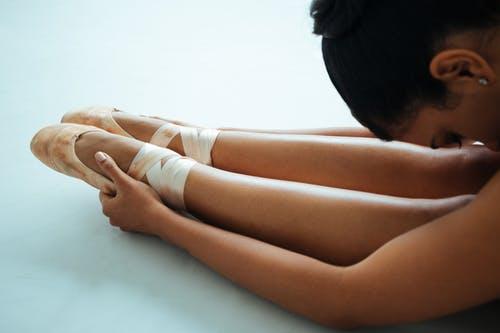 Dehnen im Ballett