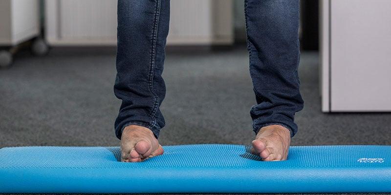 Gesunder Fuß: Übungen