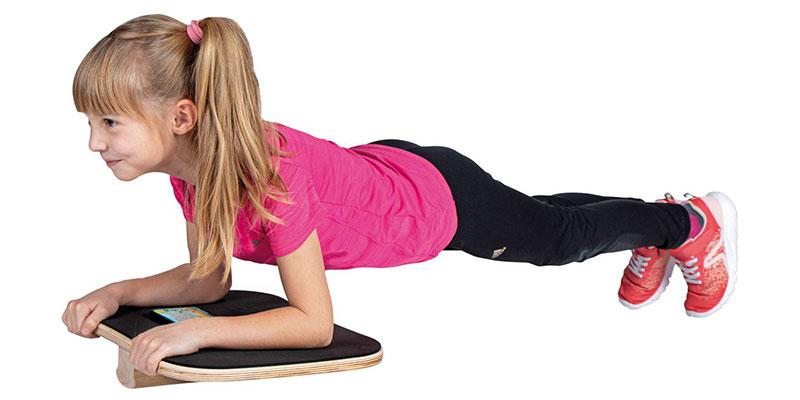 Neu im Kübler Sport Katalog 2020: Plankpad für Kinder von Erzi