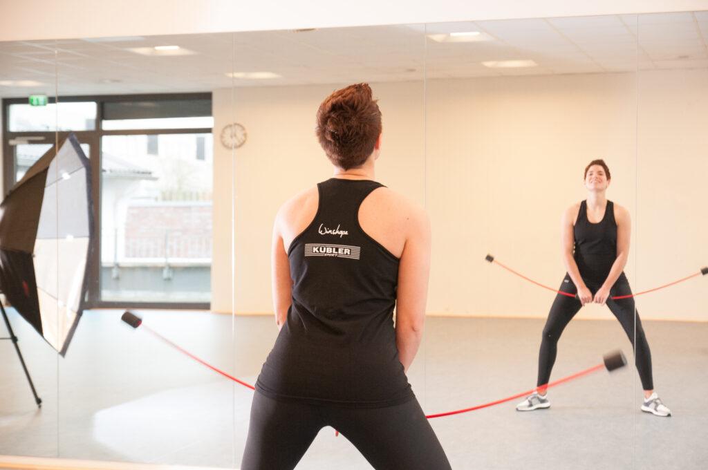 Trainingsgeräte für das Training der Koordination und Körperstabilität