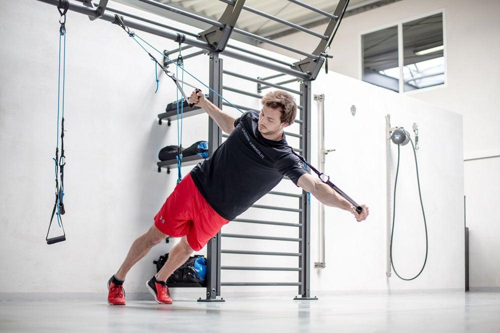 Schlingentrainer im Core-Training