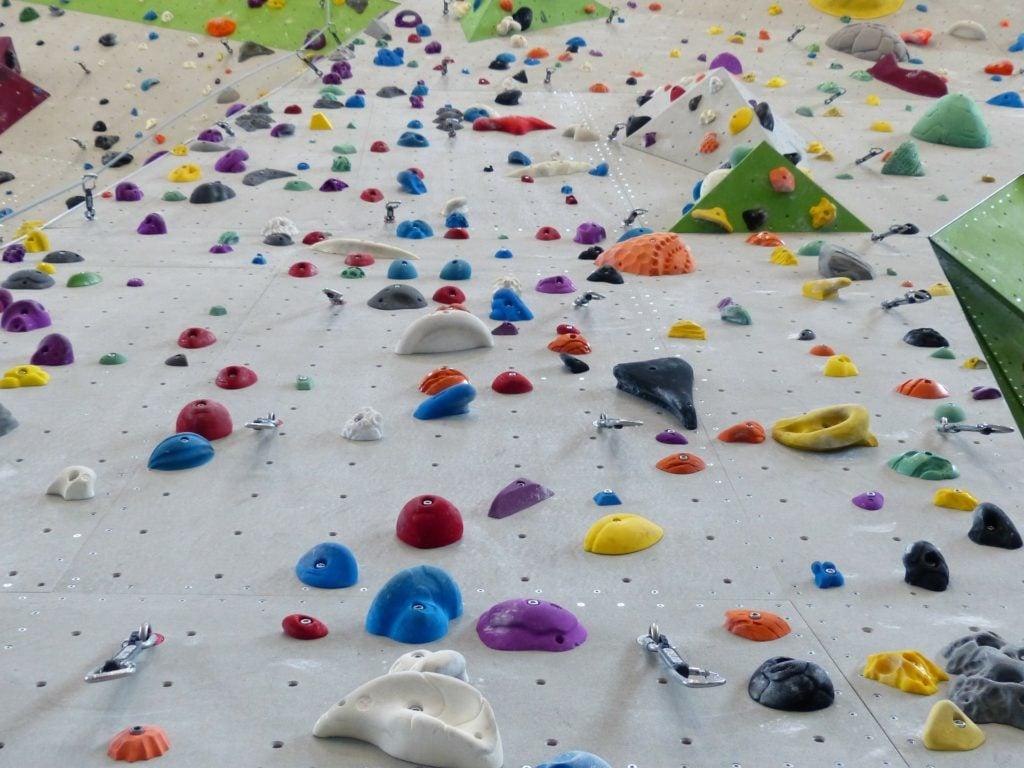 Spiele im Klettern