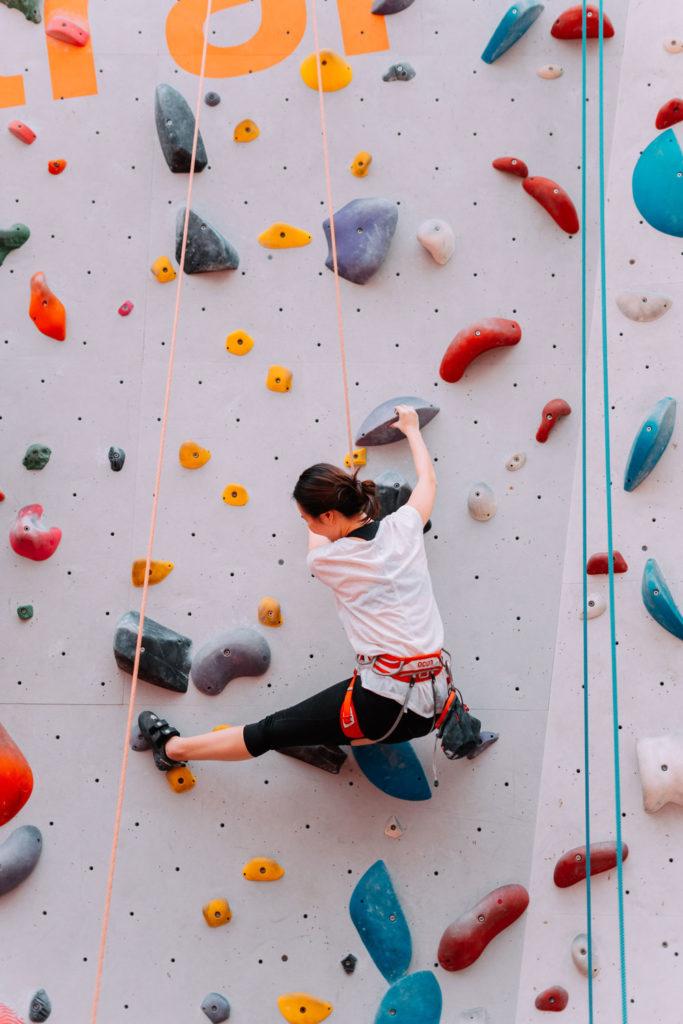 Spiele für ein spielerisches Erlernen von Klettertechniken