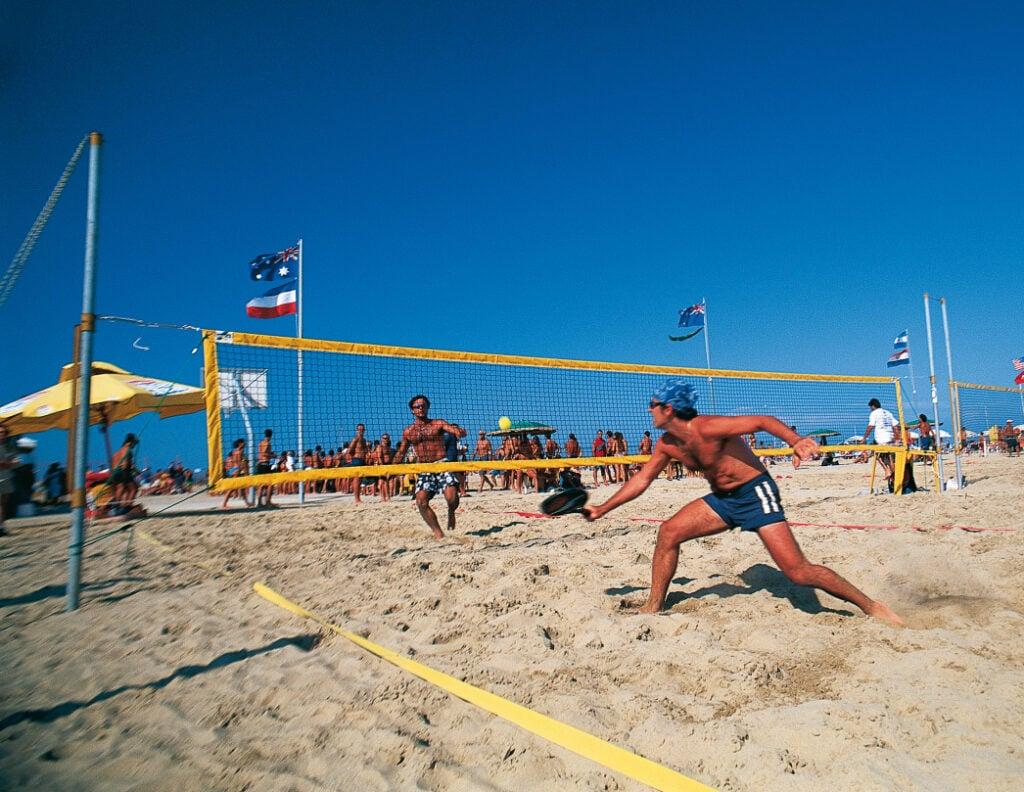 Vorstellung von Beach Tennis