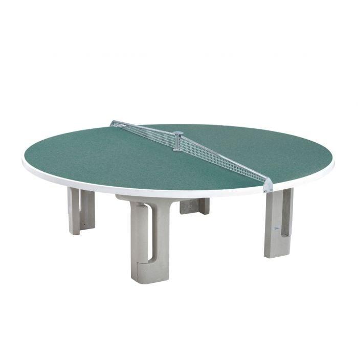 Tischtennisplatte für vier Spieler