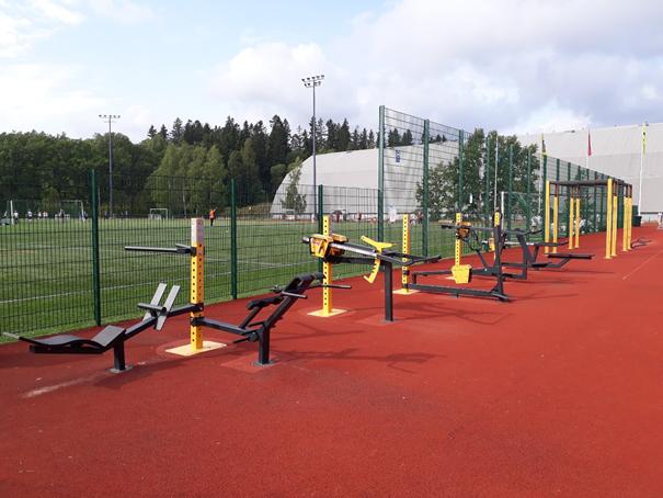 Vorschriftsmäßiger Fallschutz bei Outdoor Sportanlagen