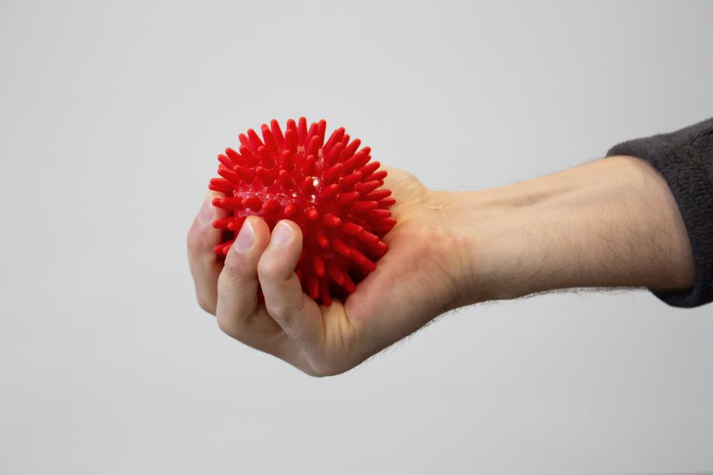 Anwendung des Igelballs