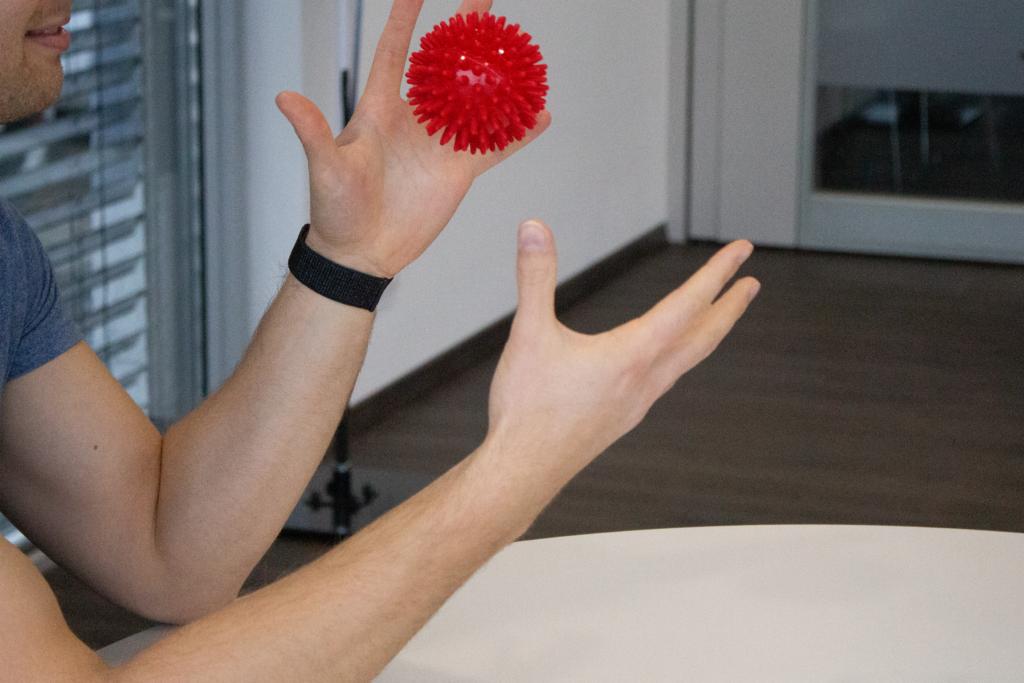 Igelball-Übungen