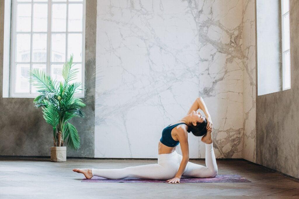 Yoga / Spagat (Hanumanasana)