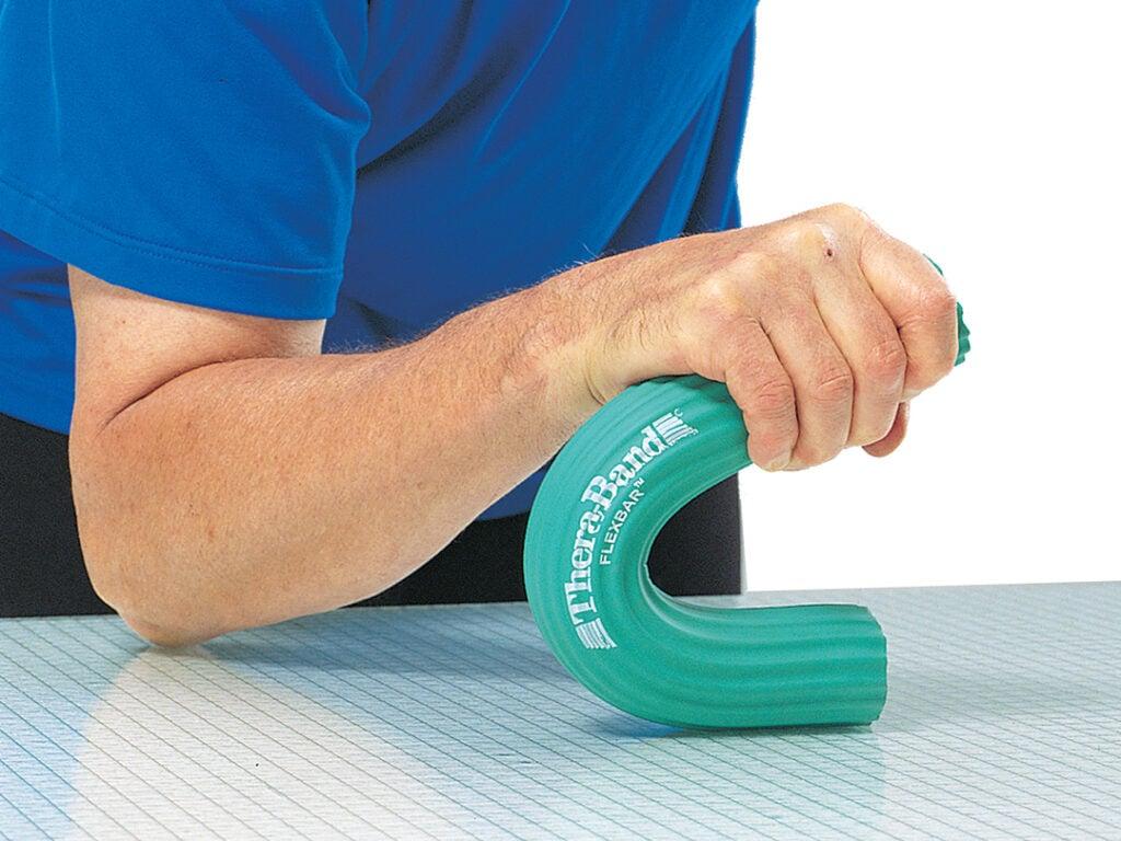 Flexibler Übungsstab zur Stärkung der Handgelenke