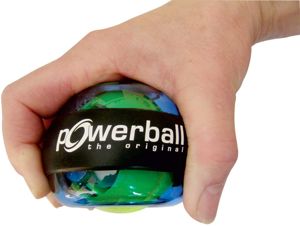 Powerball zur Stärkung der Handgelenke