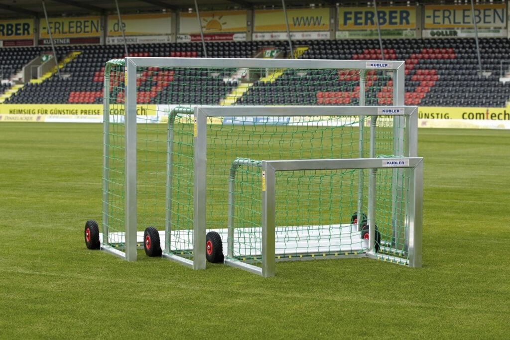 Kinderfußball neue Spielformen mit kippsicherem safety Minitor