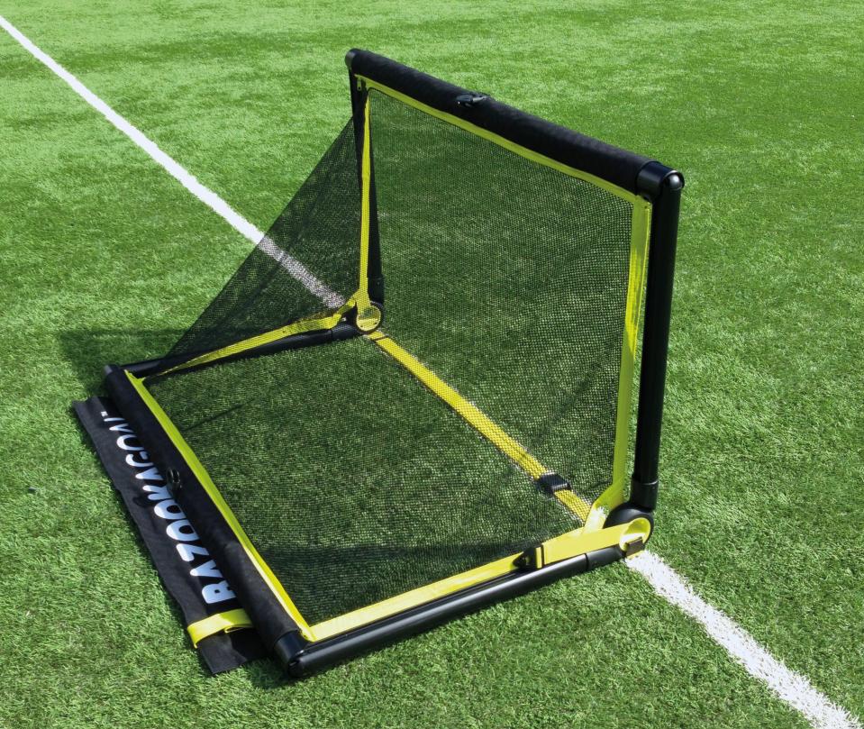 Kinderfußball neue Spielformen mit BazookaGoal Minitor