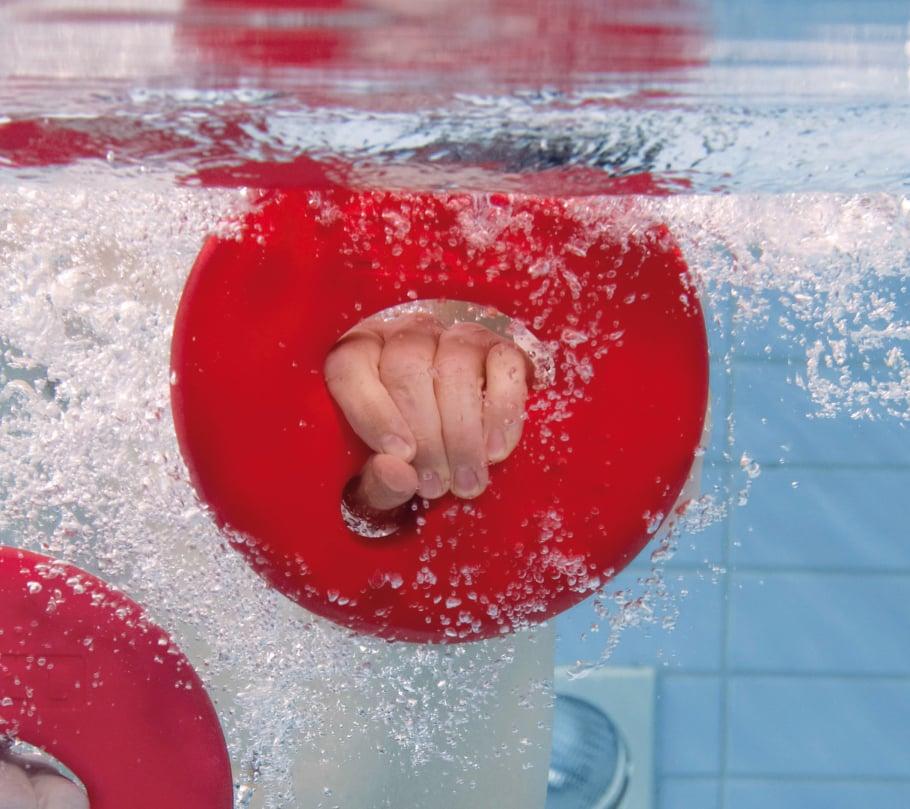 Übungen im Aqua-Fitness