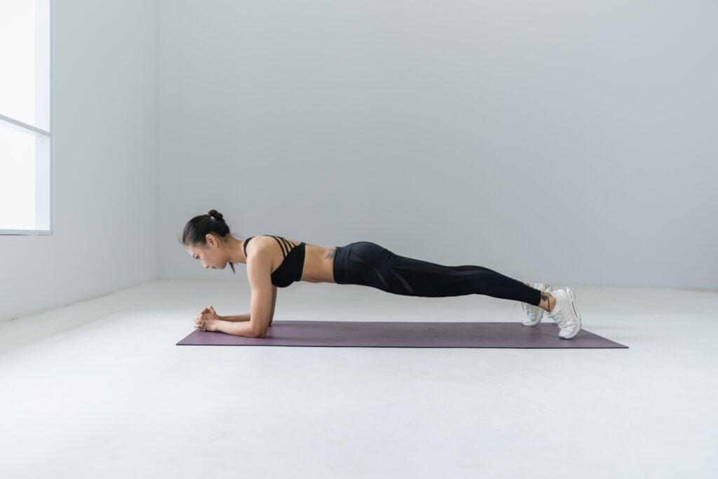 Plank und ihre Variationen