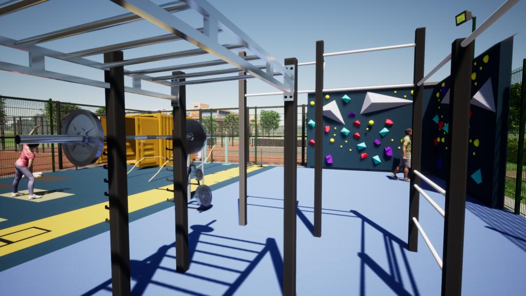 Outdoor Fitness Möglichkeiten für Betreiber